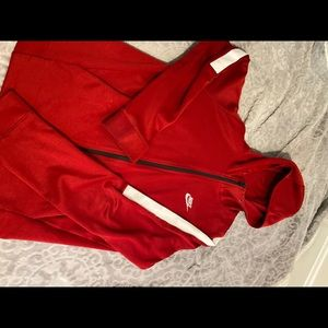 Nike Red zip up.